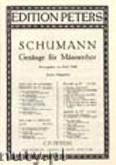 Okładka: Schumann Robert, 6 Male Choruses Op. 33 (TTBB)