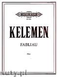 Okładka: Kelemen Milko, Fabliau for flute