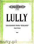 Okładka: Lully Jean-Baptiste, Chaconne from Roland