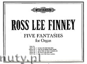 Okładka: Finney Ross Lee, Five Fantasies for Organ - Fantaisie No. 2
