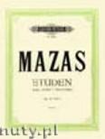 Okładka: Mazas Jacques-Féréol, Special Studies for Violin, Op. 36, Vol. 1