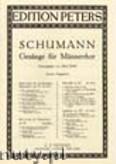 Okładka: Schumann Robert, 3 Male Choruses, Op. 62