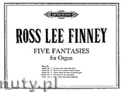 Okładka: Finney Ross Lee, Five fantasies for Organ - Fantasia No. 4