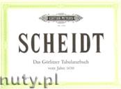 Ok�adka: Scheidt Samuel, Goerlitz -Tabulatura (1650)