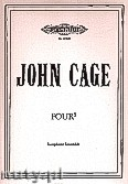 Okładka: Cage John, Four5 for Saxophone Ensamble