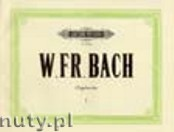 Ok�adka: Bach Wilhelm Friedemann, Organ Works Vol. 1