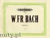 Okładka: Bach Wilhelm Friedemann, Organ Works Vol. 1