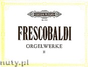 Okładka: Frescobaldi Girolamo, Orgelwerke, Band 2