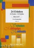 Okładka: Komischke Uwe, 24 Etüden - Horn