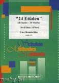 Okładka: Komischke Uwe, 24 Etüden - Tuba