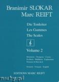 Okładka: Slokar Branimir, Reift Marc, Tonleitern / Gammes / Scales Vol. 2 - CLARINET