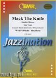 Ok�adka: Weill Kurt, Mack The Knife (Solo Voice) - Wind Band