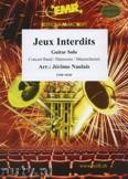 Okładka: Naulais Jérôme, Jeux Interdits (Guitar Solo) - Wind Band