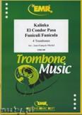 Okładka: , 3 utwory na 4 puzony (Kalinka, Funiculi Funicula, El Condor Pasa) - Trombone