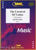 Ok�adka: Leclair David, The Carnival of Venice for Tuba Quartet