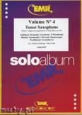 Okładka: Armitage Dennis, Solo Album Vol. 04  - Saxophone