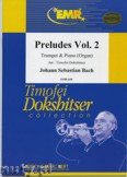Ok�adka: Bach Johann Sebastian, Pr�ludes Vol. 2  - Trumpet