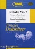 Ok�adka: Bach Johann Sebastian, Pr�ludes Vol. 3  - Trumpet
