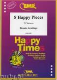 Okładka: Armitage Dennis, 8 Happy Pieces - CLARINET