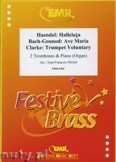 Okładka: Michel Jean-François, Utwory na 2 puzony i pianino (BACH/GOUNOD: Ave Maria, CLARKE: Trumpet Voluntary, HÄNDEL: Halleluja) - Trombone
