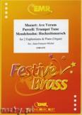 Okładka: Michel Jean-François, Utwory na 2 euphonium i  fortepian (MENDELSSOHN: Hochzeitsmarsch, MOZART: Ave Verum, PURCELL: Trumpet Tune) - Euphonium