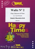 Okładka: Szostakowicz Dymitr, Waltz N° 2 for Flute, Bassoon and Piano