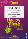 Ok�adka: Szostakowicz Dymitr, Waltz N� 2 for Clarinet, Tenor Sax and Piano