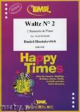 Ok�adka: Szostakowicz Dymitr, Waltz N� 2 for 2 Bassoons and Piano