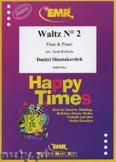 Ok�adka: Szostakowicz Dymitr, Waltz N� 2 - Flute