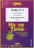 Ok�adka: Szostakowicz Dymitr, Waltz N� 2 - CLARINET