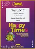 Ok�adka: Szostakowicz Dymitr, Waltz N� 2 - Saxophone