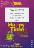 Ok�adka: Szostakowicz Dymitr, Waltz N� 2 for Flute, Trumpet and Piano