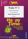 Okładka: Szostakowicz Dymitr, Waltz N° 2 for Flute, Tuba and Piano