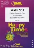 Ok�adka: Szostakowicz Dymitr, Waltz N� 2 for Clarinet, Trumpet and Piano