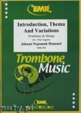 Okładka: Hummel Johann Nepomuk, Introduktion, Thema & Var. (Tromb. Solo) - Orchestra & Strings