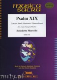 Okładka: Marcello Benedetto, Psalm XIX - Wind Band