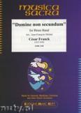 Okładka: Franck César, Domine Non Secundum - BRASS BAND