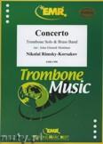 Okładka: Rimski-Korsakow Mikołaj, Concerto (Trombone Solo) - BRASS BAND