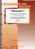 Ok�adka: Weber Carl Maria Von, Romance (Trombone Solo) - BRASS BAND