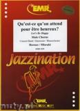Ok�adka: Hornez Andr�, Misraki Paul, Qu'est-ce qu'on attend (Male Chorus) - Wind Band