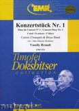 Ok�adka: Brandt Vassily, Konzerst�ck Nr. 1  (Cornet Solo) - BRASS BAND