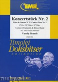 Ok�adka: Brandt Vassily, Konzerst�ck Nr. 2 (Cornet Solo) - BRASS BAND