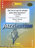 Ok�adka: Hornez Andr�, Misraki Paul, Qu'est-ce qu'on attend (Chorus SATB) - Wind Band