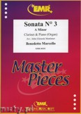 Ok�adka: Marcello Benedetto, Sonata N� 3 in A minor - CLARINET