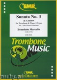 Okładka: Marcello Benedetto, Sonata N° 3 in A minor - Trombone