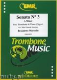 Ok�adka: Marcello Benedetto, Sonata N� 3 in A minor - Trombone