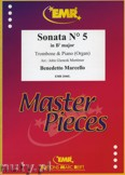 Ok�adka: Marcello Benedetto, Sonata N� 5 in Bb major - Trombone