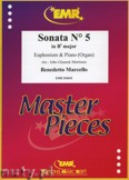 Ok�adka: Marcello Benedetto, Sonata N� 5 in Bb major - Euphonium