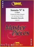 Okładka: Marcello Benedetto, Sonata N° 6 in G major - CLARINET