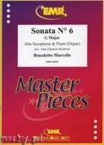 Okładka: Marcello Benedetto, Sonata N° 6 in G major - Saxophone